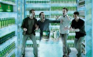 Reklama za pivo Hajneken