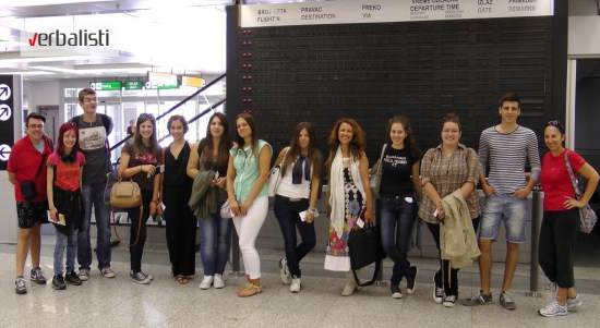 Polaznici jezicke mreze Verbalisti, London i Oxford