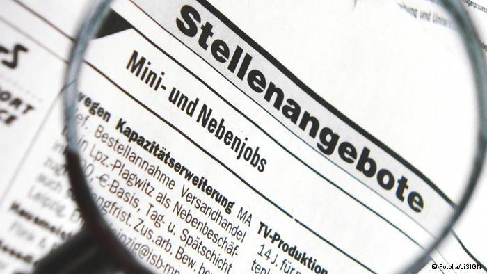 Nemacki jezik, oglasi za posao