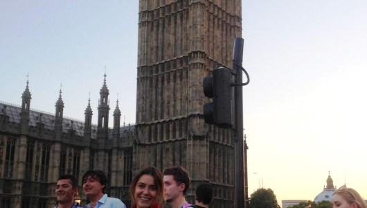 Glumica Ivana Mrvaljevic, polaznica jezicke mreze Verbalisti Ivana u Londonu, 2013