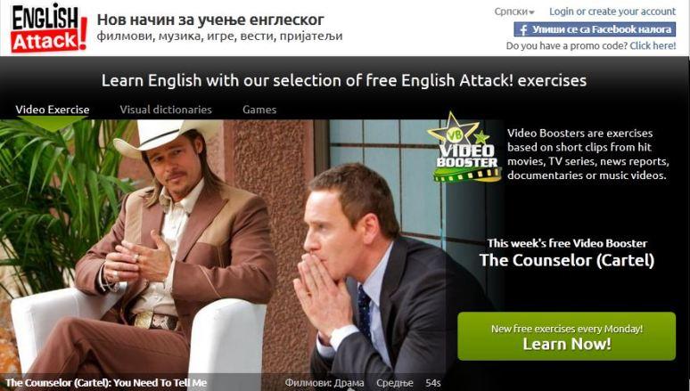 Video vezba za ucenje engleskog, The Counselor (Cartel), Verbalisti