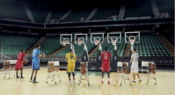 Kosarkasi NBA lige u reklami