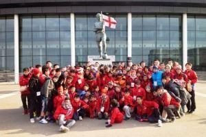 Polaznici skole fudbala Manchester United
