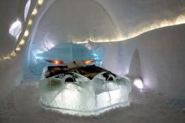 Spavaca soba Ledenog hotela