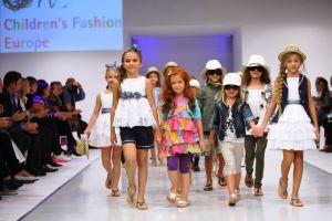 Children on the catwalk