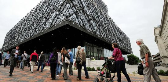 The £189m Library of Birmingham
