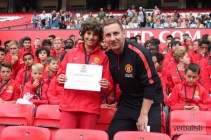 Jedan od nasih nagradjenih polaznika, fudbalski kamp Manchester Uniteda, Verbalisti