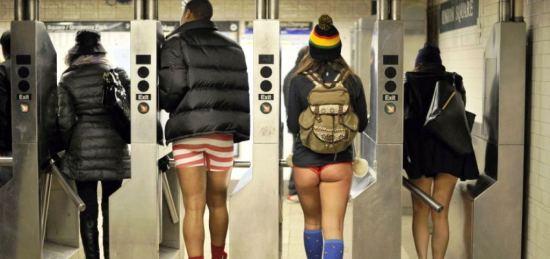Dan bez pantalona u metrou 2015
