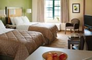 Brickell residence, twin bedroom