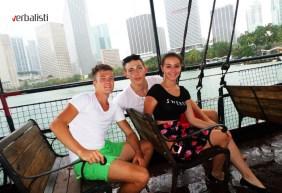 Voznja brodom, Miami, Verbalisti