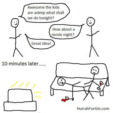 Kad deca odu da spavaju