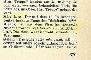Nemacke reci u srpskom jeziku, Verbalisti
