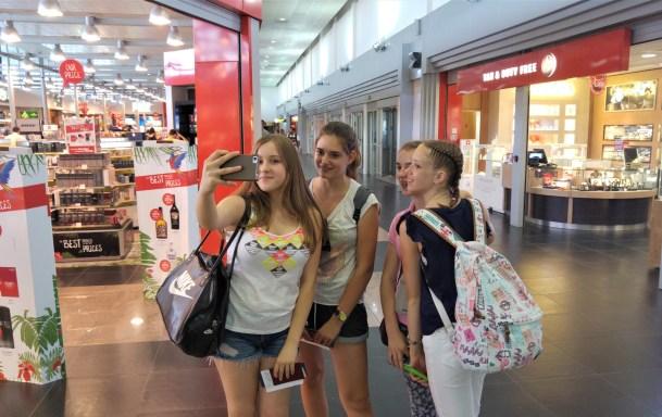 Obavezan selfie na putu za Maltu, polaznice jezičke mreže