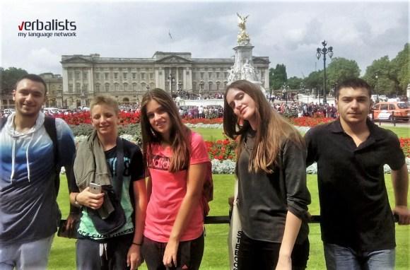 Program My LONDON i letnja skola engleskog jezika, polaznici jezičke mreže Verbalisti
