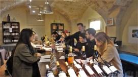 Degustacija vina u okviru radionice o enologiji, Verbalisti u Monpeljeu
