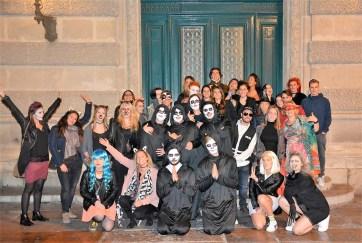 Halloween žurka, ILA Monpelje