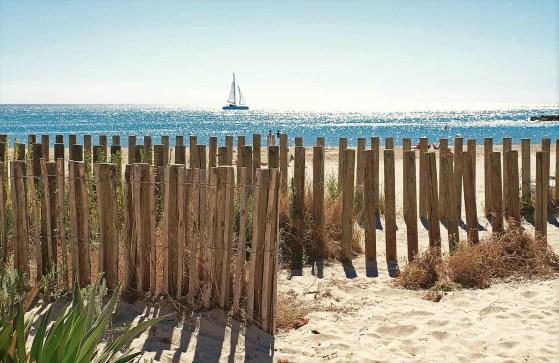 Obala Sredozemlja nedaleko od Monpeljea