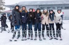 Kursevi engleskog u Kanadi, skijaški izlet 9