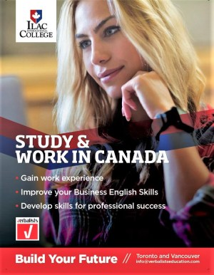 Study and work in Canada with ILAC College, PRODIREKT