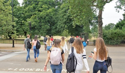 Jezičko putovanje i obilasci Londona 18, program My LONDON