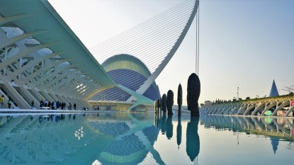 City of Arts and Sciences in Valencia 2