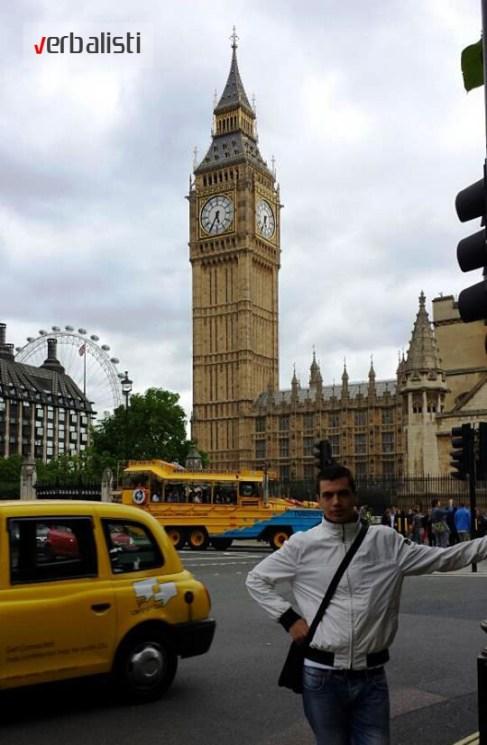 Stojan Katanic u Londonu 2013, Verbalisti