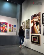 Anja u Nacionalnoj galeriji u Londonu