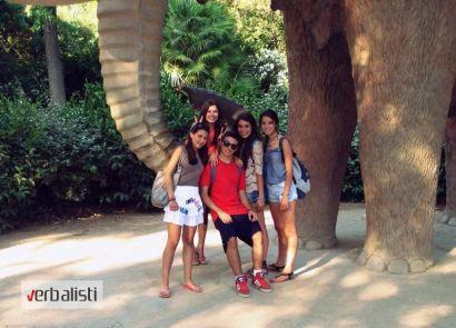 Verbalisti students in Barcelona, photo 10