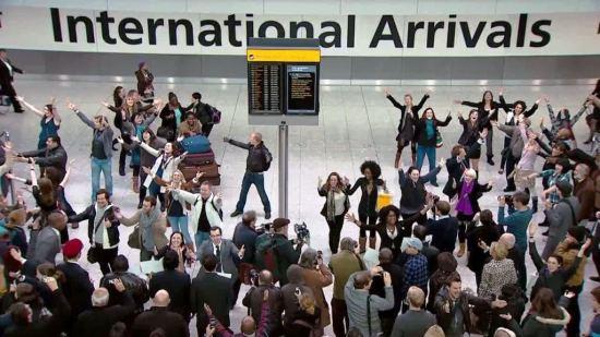 Heathrow welcome back