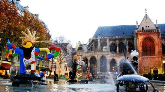 Stravinsky Fountain, Paris