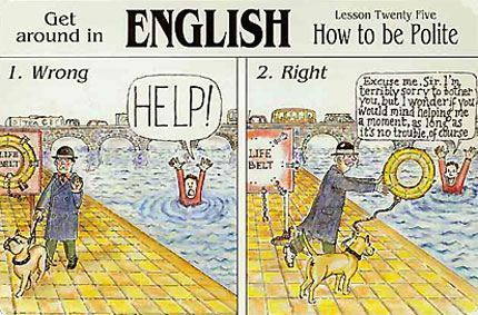 British stereotypes, Verbalisti
