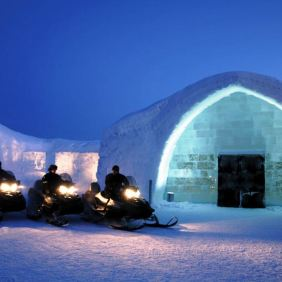 Icehotel in Sweden, 2