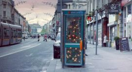 Spar Christmas tree ad