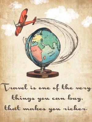 Travel can make you richer