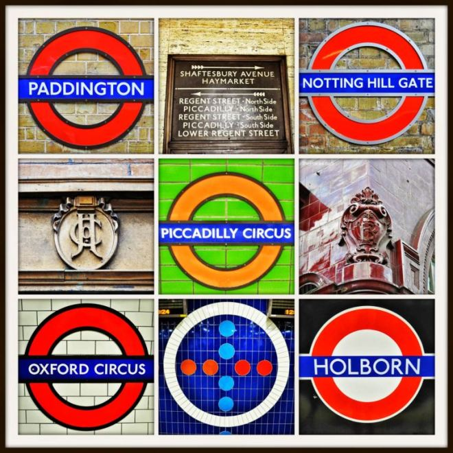 London metro stations