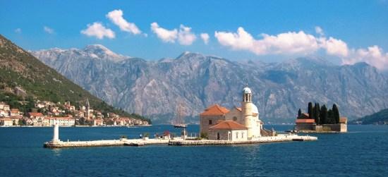 Bay of Kotor in Montenegro
