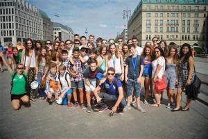 Berlin Water Sports camp, Berlin excursion, Verbalists