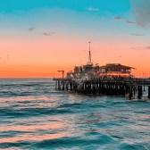 Santa Monica Pier sunset, Verbalists