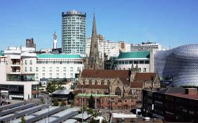 Birmingham, 713,000 visitors in 2012