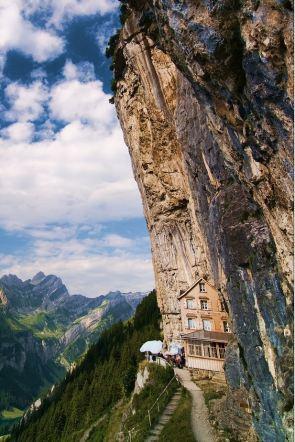 Äscher Cliff, Restaurant With A View