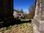 Via Flaminia e Porta S.Damiano