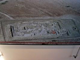 Ara della Regina - Plastico dei resti - Museo Archeologico di Tarquinia