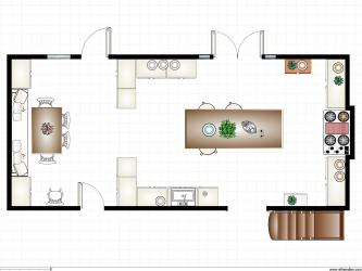 practical magic kitchen plan floor movie plans owens blueprints sally verbenasimpleliving island room monster