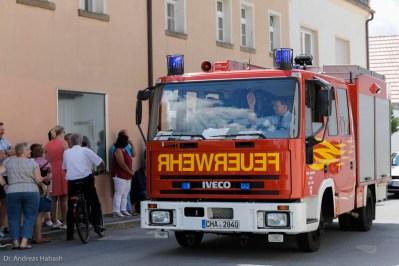 Habash Andreas 150 FFW Chammünster Festzug 001