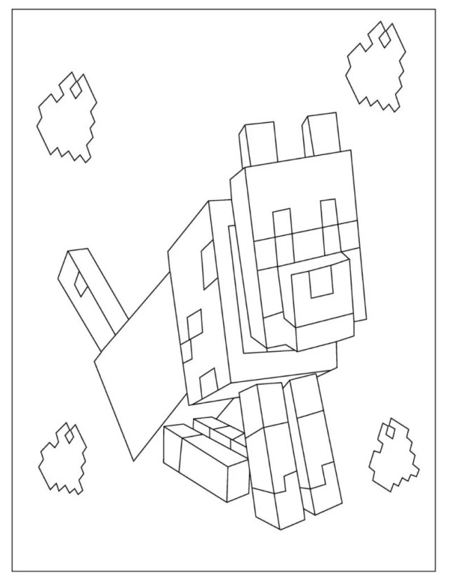 Free Minecraft Coloring Pages for Download (Printable PDF) - VerbNow