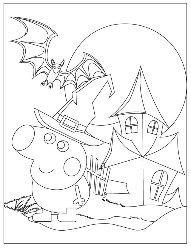 Free Peppa Pig Coloring Pages for Download (Printable PDF) - VerbNow