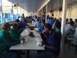 Dias 06 a 10 abril15, Cafés da manhã e almoços em Macaé, MRV (41)