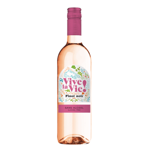 Vive la Vie! Pinot Noir Rosé Alcoholvrij
