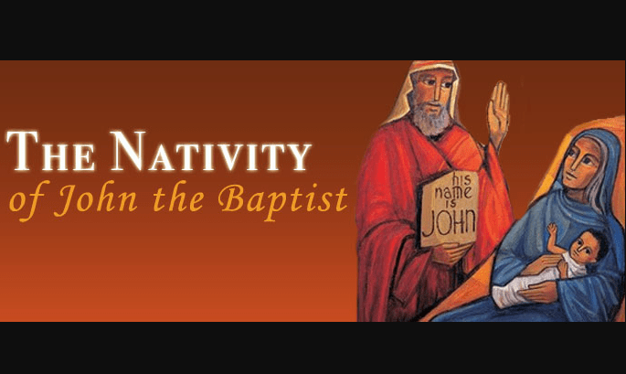 Readings Nativity of John the Baptist – Verbum Bible