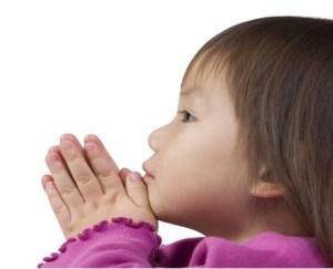 Dziecko się modli (1)